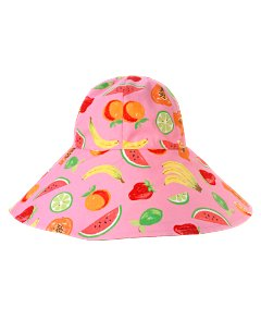Pink Fruit Hat