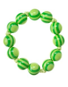 Green Stripe Bracelet