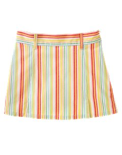 Multi-Stripe Skort