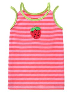 Striped Strawberry Tank