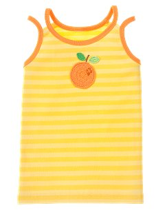 Striped Orange Tank