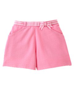Pink Ribbon Knit Short