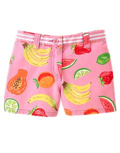 Fruit Print Short