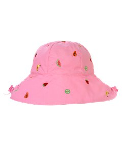 Embroidered Fruit Hat