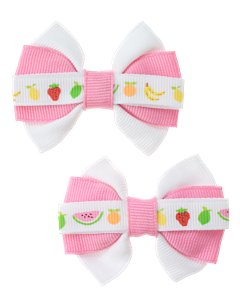 Fruit Ribbon Bows
