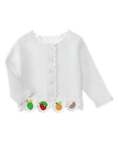 Crochet Fruit Sweater Cardigan