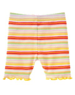 Striped Bike Short