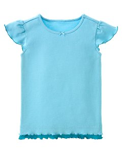Blue Double-Layer Tee