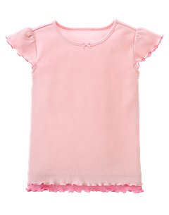 Pink Double-Layer Tee