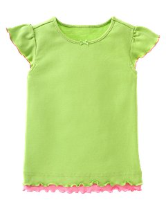 Green Double-Layer Tee