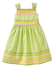 Ric Rac Sunflower Dress